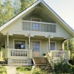 финский дачный домик 39м2