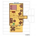 wooden house seita73A 2 floor
